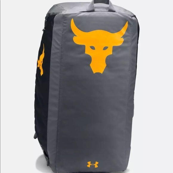 Project rock under armour duffle backpack read!!! 0e3e7e49fb548